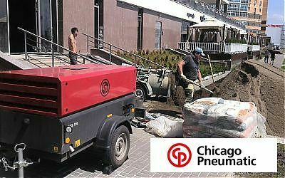 Компрессор Chicago Pneumatic CPS 110, прокат